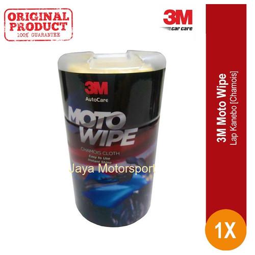 Foto Produk Moto Wipe 3M Lap Kanebo Mobil Motor Original High Quality dari Jaya Motorsport
