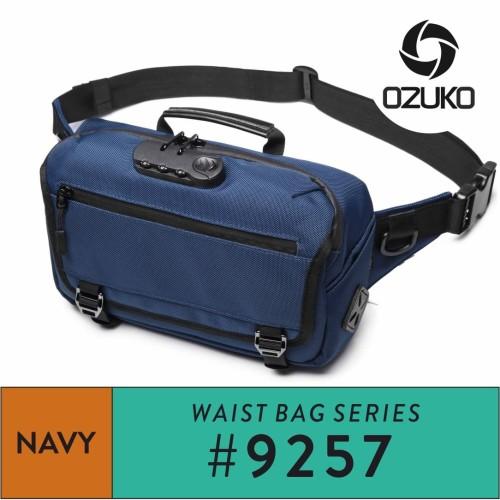 Foto Produk Ozuko Waistbag #9257 Navy dari Ozuko Official Store