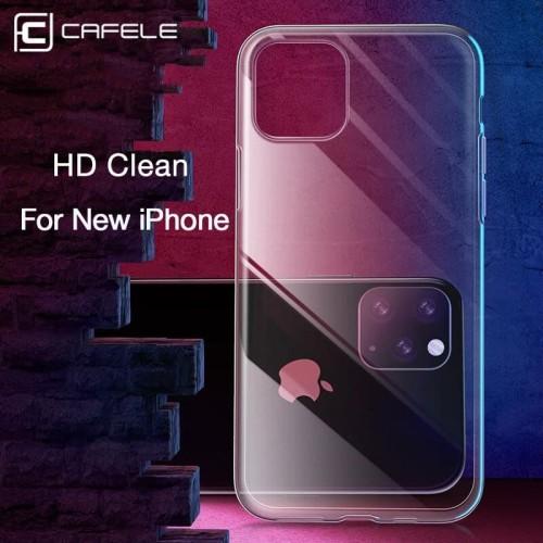 Foto Produk CAFELE iPhone 11 Pro Max iPhone 11 Pro Case TPU Clear Transparant - iPhone 11 dari Cafele Official Store