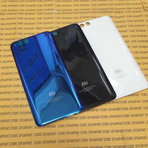 Foto Produk Tutup belakang Backdoor Xiaomi Mi6 Mi 6 Original bahan Kaca - Putih dari Store Sperpart