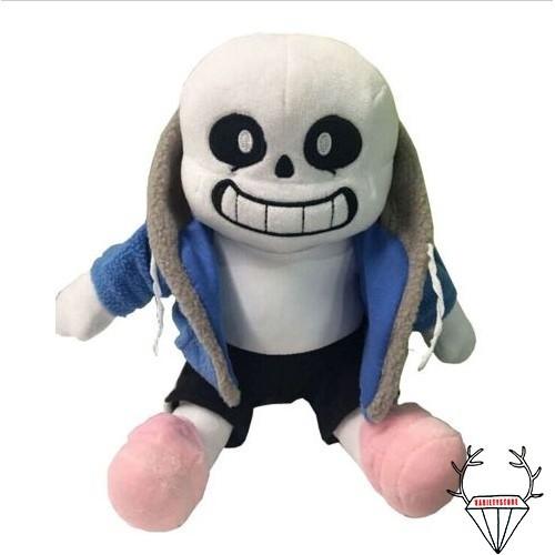 Foto Produk Boneka Stuffed Plush Karakter ii-undertale Sans Ukuran 12 untuk Mainan dari Random Shop B