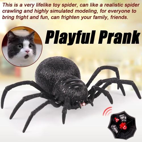 Foto Produk Mainan RC Serangga Laba-laba Remote Control untuk Hadiah Bercanda Anak dari Random Shop B