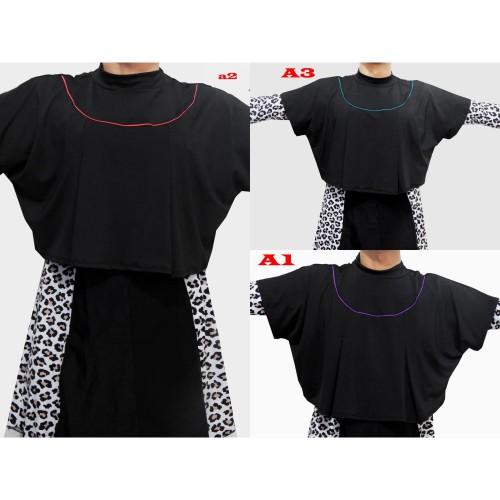 Foto Produk Penutup Dada Baju Renang Hitam All Size ( BOLERO ONLY ) - Biru dari joulstore