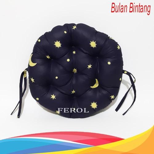Foto Produk Bantal ibu hamil/bantal bulat/bantal duduk motor - Bulan bintang dari Ferol Colection