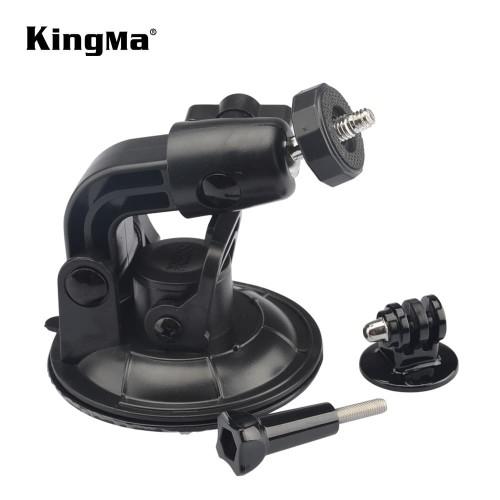 Foto Produk Suction Cup Ball Head 9CM Action Cam dengan Adapter Mount + Screw dari Kingma Indonesia