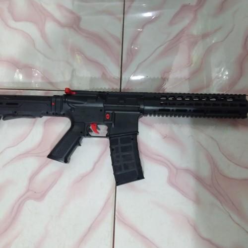 Foto Produk Soft gun Spring M4 predator 1X Kokang 1x Tembak dari Bang izal Toys