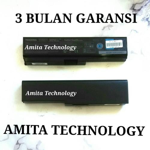 Foto Produk Baterai Laptop ORIGINAL Toshiba C600 C640 L630 L645 L730 L735 L745 dari Amita Technology