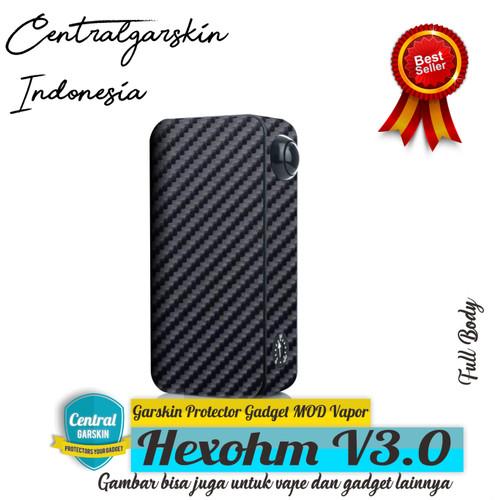 Foto Produk (Centralgarskin) Garskin Hexohm V3 Black Carbon dari Central Garskin