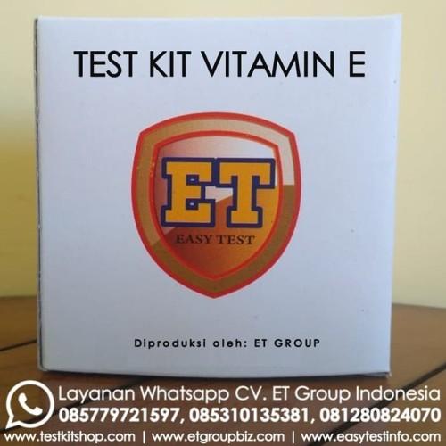 Foto Produk Test Kit Vitamin E - Teskit Kualitatif ET dari Sooper Shop
