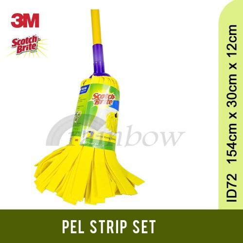 Foto Produk 3M Scotch Brite Pel Strip Set - Kain Pel Kuning dari Rainbow Cleaning