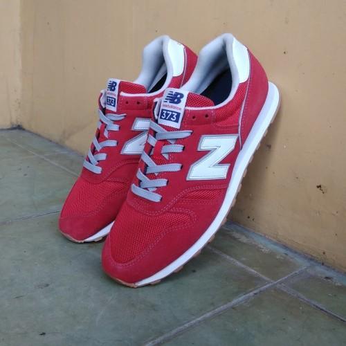 New Balance 373 Red White