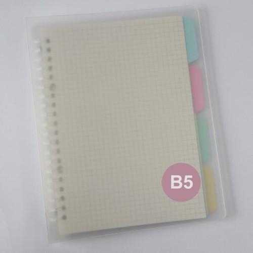 Foto Produk Binder Ring PVC Plastic B5 by Bukuqu dari Bukuqu
