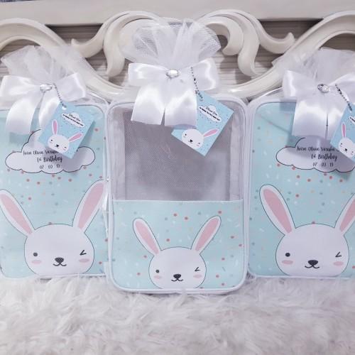 Foto Produk Souvenir Pouch Custom/Souvenir Ultah/Pouch Printing/Hampers Baby/Gift dari DD Hamper's