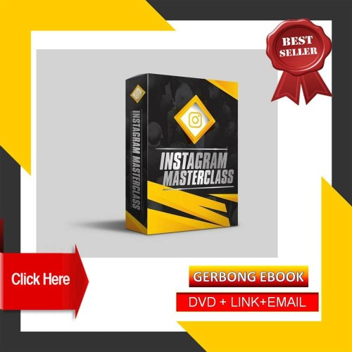 Foto Produk kursus instagram MasterClass Materi kelas Instagram Pembelajaran dari Gerbong Ebook