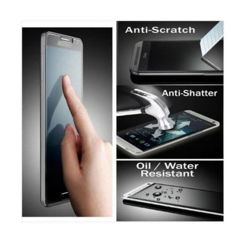 Foto Produk Samsung A5 2017 Tempered Glass CLEAR Anti Gores Kaca Bening Yes dari Indo Smart Acc