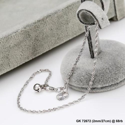 Foto Produk gelang kaki white xuping 72672 dari Gerai Xuping Jewelry