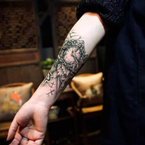 Jual Desain Keren Jam Temporary Tattoo Tato Temporer Fashion Berkualitas Jakarta Barat Menunggu Bayaran Tokopedia