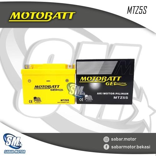 Foto Produk ACCU MOTOBATT Tipe MTZ5S dari SABAR MOTOR