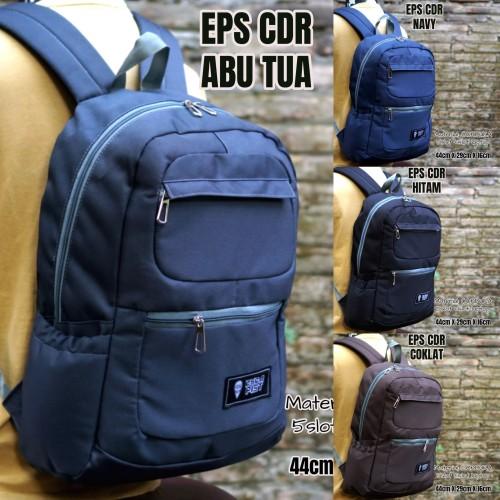 Foto Produk tas ransel laptop sekolah pria gendong eps - Random dari ORIEN ID