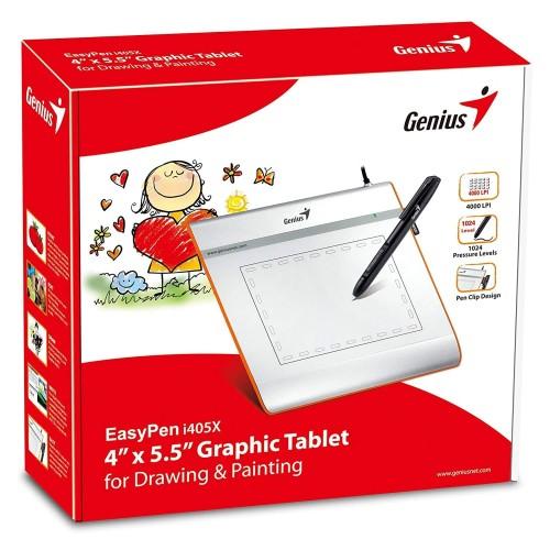 Foto Produk GENIUS G-Pen i405x Small Size Drawing Tablet dari PojokITcom Pusat IT Comp
