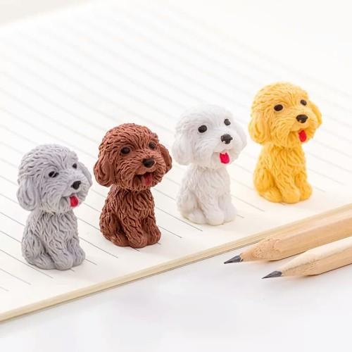 Foto Produk Penghapus Lucu boneka anjing mini - penghapus pensil - satuan dari Dante