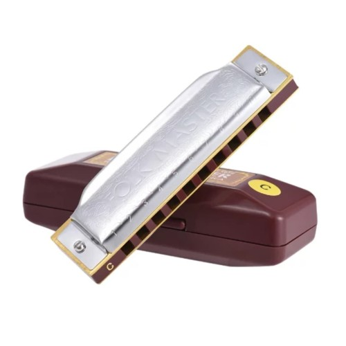 Foto Produk Harmonika Diatonic Suzuki Folkmaster Harmonica Key C dari ShinpoStore