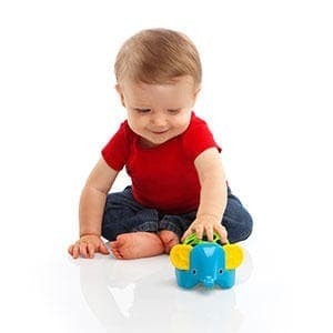 Foto Produk GAJAH RATTLE TEETHER dari Bintaro Baby Shop