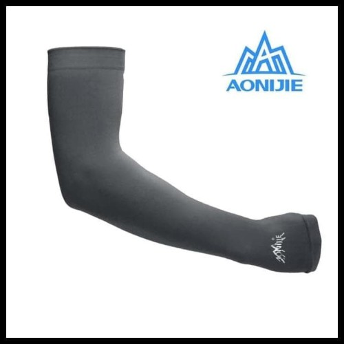 Foto Produk Hot Product Aonijie - Arm Sleeves - Sunscreen Cuff - Black E4036 dari Elyawati Retail