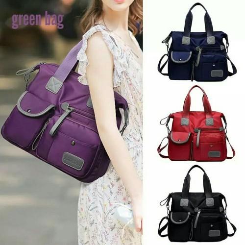 Foto Produk Travel Bag canvas Micro Tas Wanita Murah Tas Wanita Simple - Hitam dari SUPERSTORE1