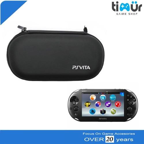 Foto Produk Dompet Tas Airfoam Pouch Travel Bag PSVita PS Vita Hitam dari Timur Game Shop