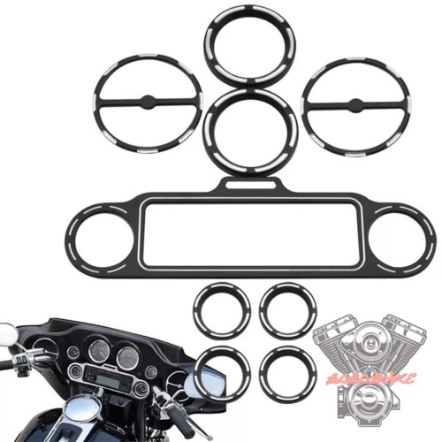 Foto Produk trim fairing harley list trim bezel gauge edge cut harley full set dari Baba Bike