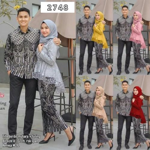 Foto Produk Batik Couple Brokat Tile Pinguin Annabel 2748 dari anitaolshop