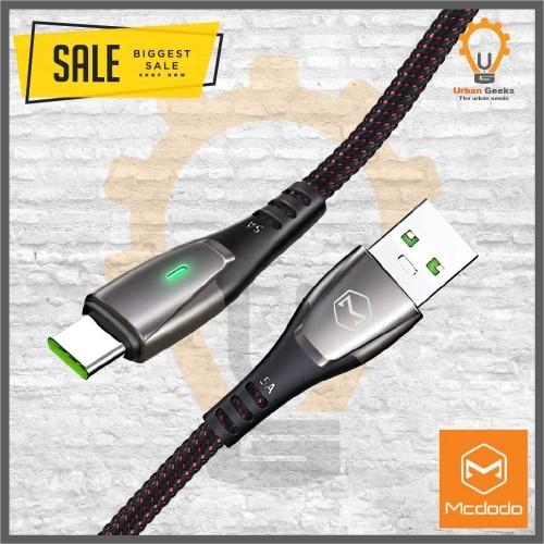 Foto Produk Mcdodo Kabel Data Super Charge QC 4.0 5A VOOC Type C Auto Power Off dari Urban Geeks