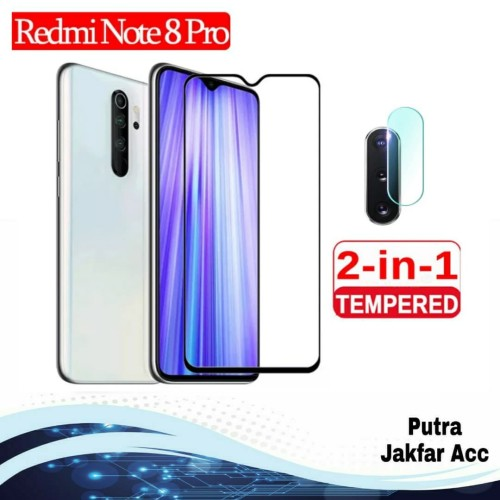 Foto Produk Paket Tempered Glass Camera + Tg Anti Gores Xiaomi Redmi Note 8 Pro dari Putra Jakfar ACC