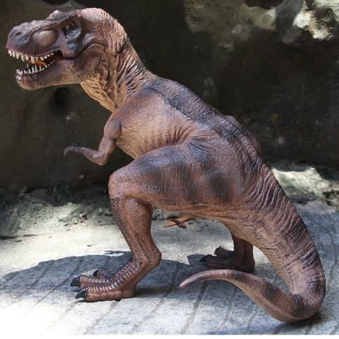 Foto Produk Figure Jurassic Dinosaurus T-rex Mainan Anak World Dino dari Warung Michie Figure