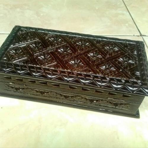 Foto Produk NGASEM kotak tempat perhiasan Kayu PREMUM dari Yovi Muhamad