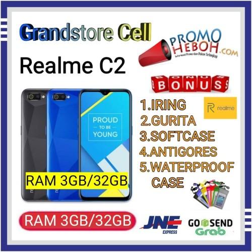 Foto Produk REALME C2 RAM 3/32 GB GARANSI RESMI REALME INDONESIA - Hitam dari Grandstore cell