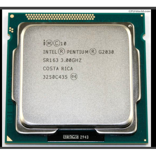 Foto Produk PROCESSOR INTEL PENTIUM DUAL CORE G2030 (3.0 GHZ) / LGA 1155 dari Syifa Komputer