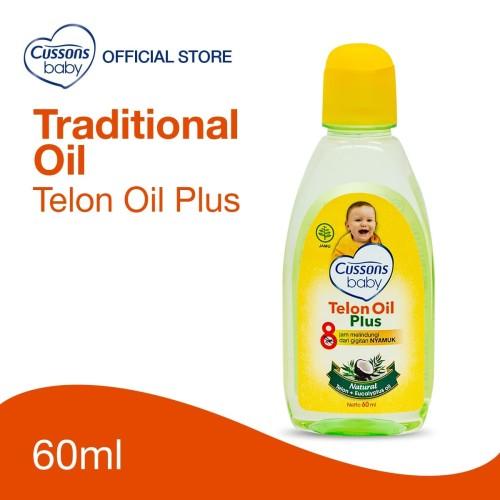 Foto Produk Cussons Baby Telon Oil Plus 60ml dari Cussons Official Store