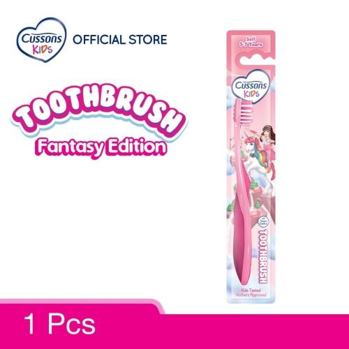 Foto Produk Cussons Kids Sikat Gigi Unicorn Soft 5-7 Years dari Cussons Official Store