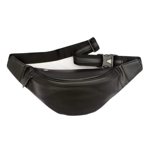 Foto Produk Waistbag Pria Dan Wanita Wenang Fashion Kulit Warna Hitam dari RazorFishStore