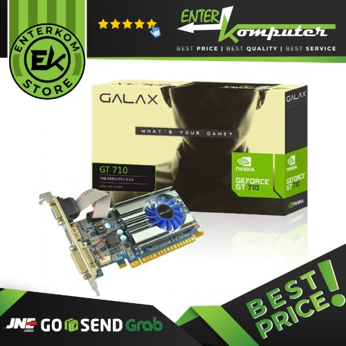 Foto Produk Galax Geforce GT 710 1GB DDR3 - Support Low Profile dari Enter Komputer Official