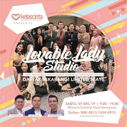 Foto Produk Lovable Lady Studio (Daftar Sendiri) dari Kelas Cinta