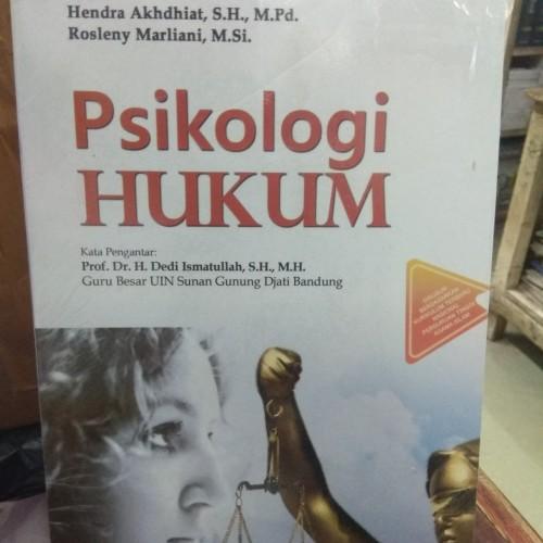 Foto Produk Psikologi Hukum dari andrebuku
