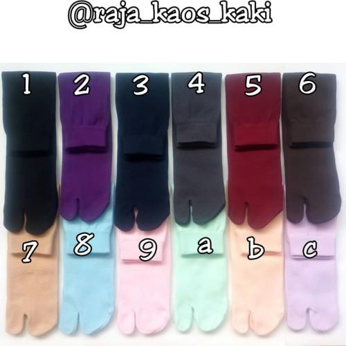 Foto Produk kaos kaki jempol polos warna dari raja_kaos_kaki