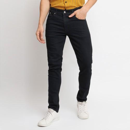 Foto Produk VENGOZ Celana Jeans Pria Slim Fit - Black - Hitam,30 dari VENGOZ