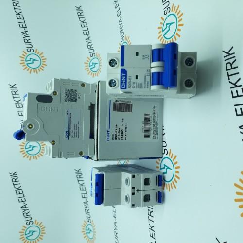 Foto Produk mcb chint 2p 2phase 4.5ka 1A 2A 4A 6A 10A 16A 20A 25A 32A 40A 50A 63A dari SURYA-ELEKTRIK