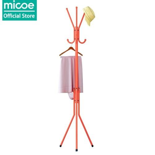 Foto Produk Micoe Rak Gantung Baju bahan logam Rak lantai Rak kamar tidur - Orange dari MICOE Official Store