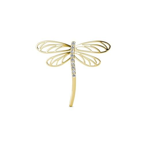 Foto Produk Dragonfly Brooch - Pin Bros Crystal Swarovski by Her Jewellery dari Her Jewellery