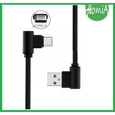 Foto Produk Kabel Data Charger Game L Type C 100 cm Kabel Gaming L Tipe C dari Homia